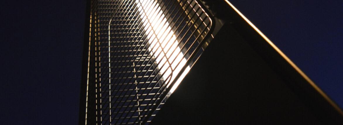 Вуличний газовий обігрівач Falo Evo з нержавіючої сталі