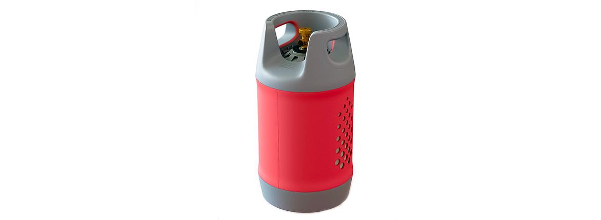 Безопасный композитный газовый баллон HPCR 24,5л